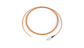 Fiber Optic Jumper, 1 F, Pigtail to SC, Tight-Buffered Cable, Plenum, 2.9 mm, 62.5 µm multimode (OM1), 3 m