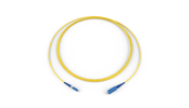 Fiber Optic Jumper, 1 F, LC to SC, Tight-Buffered Cable, Plenum, 2.0 mm, Single-mode (OS2), 2 m