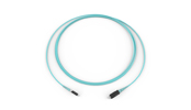 Fiber Optic Jumper, 1 F, LC to SC, Tight-Buffered Cable, Riser, 2.0 mm, 50 µm multimode (OM3), 2 m