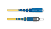 Fiber Optic Jumper, 1 F, SC to ST<sup>®</sup> Compatible, Tight-Buffered Cable, Riser, 2.0 mm, Bend-improved Single-mode (OS2