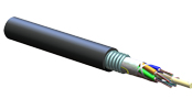 ALTOS<sup>®</sup> Lite Loose Tube, Gel-Filled, Single-Jacket, Single-Armored Cable, 60 F, 62.5 µm multimode (OM1)