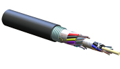 ALTOS<sup>®</sup> Lite Loose Tube, Gel-Free, Single-Jacket, Single-Armored Cable, 192 F, 62.5 µm multimode (OM1)