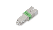 In-Line Optical Attenuators, Flat Wavelength, SC APC, 18 dB